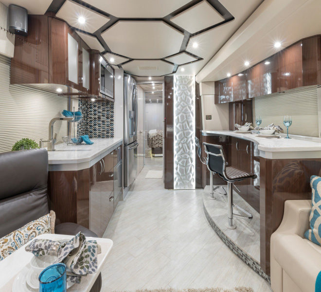 Prevost Interior Upgrades